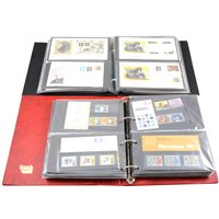 Lot 123-Stamps - First Day Covers including TPO and Presentation sets.