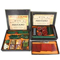 Lot 54-Three Meccano outfit sets.