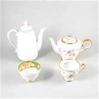 Lot 83-A complete teaset by Paragon, plus other tea ware by Royal Stafford, Spode Copeland's China and Shelley. (2 boxes)