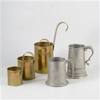 Lot 85-A collection of Wedgwood items, and assorted glass and metalware.