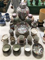 Lot 31-A quantity of modern Oriental china