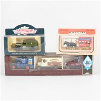 Lot 95-A quantity of Corgi Classic and other cars