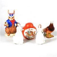 Lot 55-Assorted decorative ceramics and tableware.