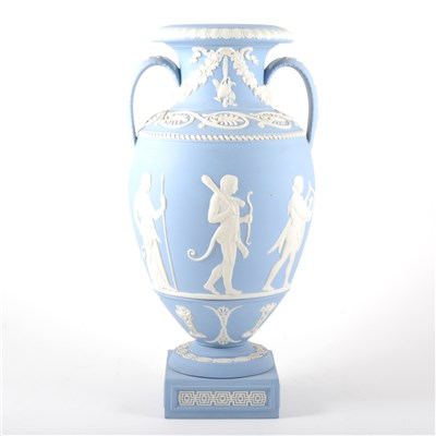 Lot 32-A limited edition Genius Collection vase, 'Procession of the Deities', by Wedgwood.