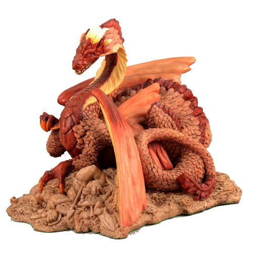 Lot 14-Holland Studio Craft model of a dragon, Enchantica series.
