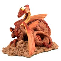 Lot 14-Holland Studio Craft model of a dragon, Enchantica series.
