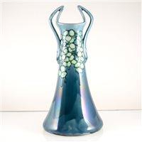 Lot 527-A Minton Secessionist series twin-handled vase, model no. 34