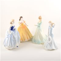 Lot 16-Collection of ten Royal Doulton ladies, ...