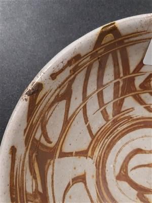 Lot 40-Studio pottery circular bowl, diameter 17cm, by Alan Caiger Smith.