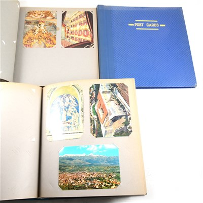 Lot 120-A collection of postcards, mostly Europe, Egypt, Turkey, 1960s-70s., 15 albums.