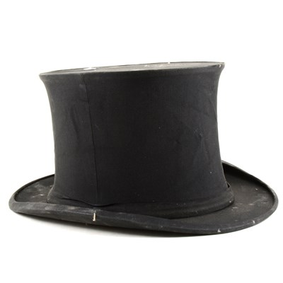 Lot 139-Silk Top hat, J. Morgan, ...