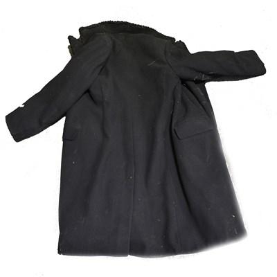 Lot 180-An Astrakhan coat, full length.