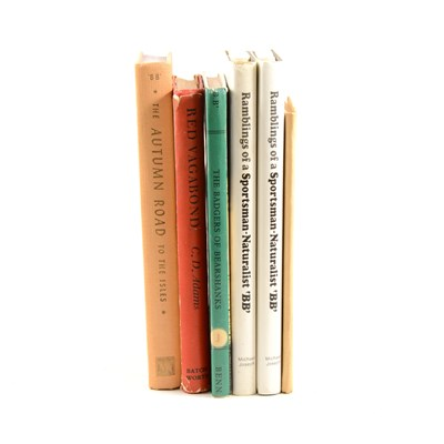 """Lot 168-Five books by BB (Denys Watkins-Pitchford), """"Alexander"""", A R Mowbray & Co Ltd, 1959, """"The Autumn Road to the Isles"""", signed by the author / illustrator, Nicholas Kaye Ltd, 1959"""