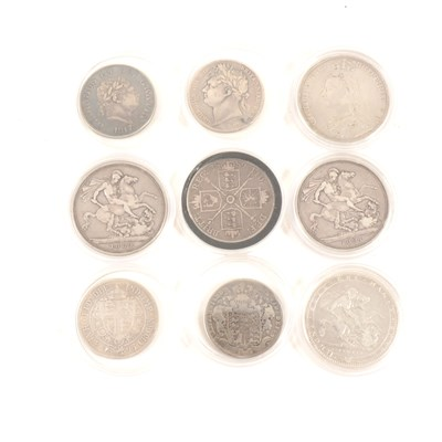 Lot 148-Coins: George III Crown, 1820; ...