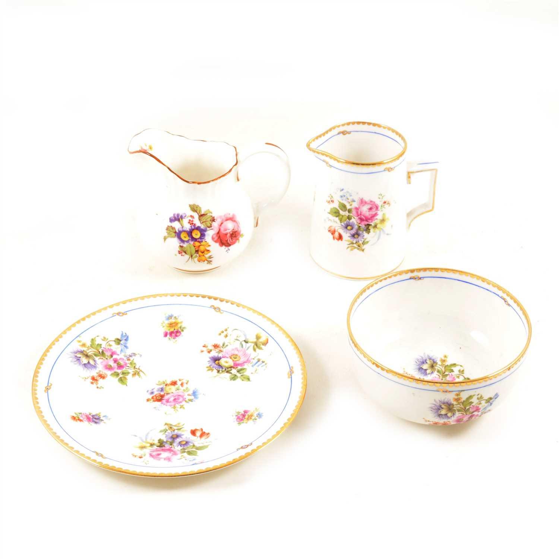 Lot 70-A collection of seven vintage tea services