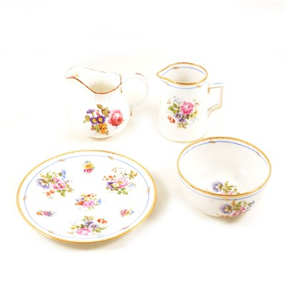 Lot 70-A collection of seven vintage tea services