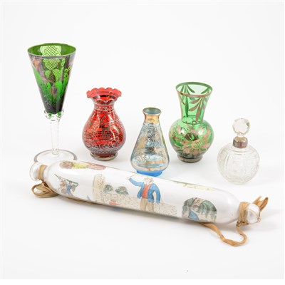 Lot 29-Collection of Murano coloured glass
