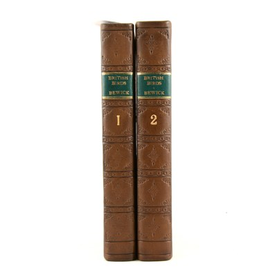 Lot 163-Thomas Bewick, A History of British Birds, in two vols, Newcastle 1826, ...