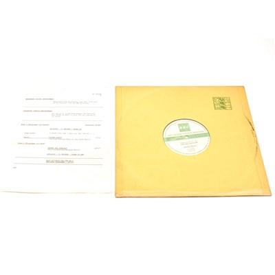 Lot 56-Renaissance - BBC Transcription Services vinyl record, Live In Concert At The Hippodrome, Golders Green 1975