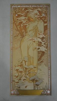 Lot 99-Alphonse Mucha