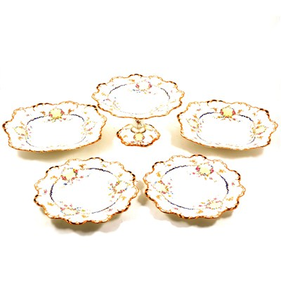 Lot 78-Royal Crown Derby bone china dessert service
