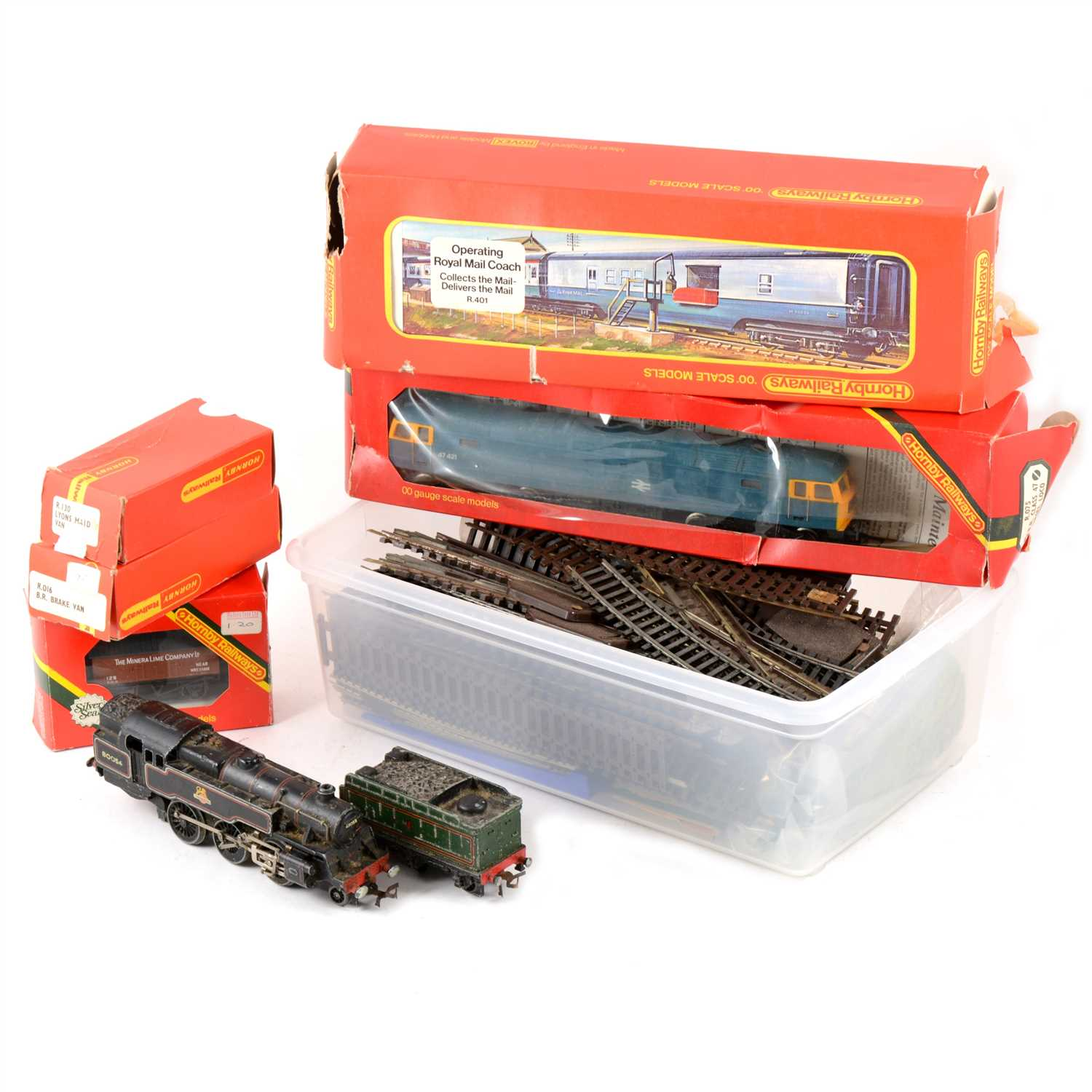 Lot 24-O gauge and OO gauge model railways