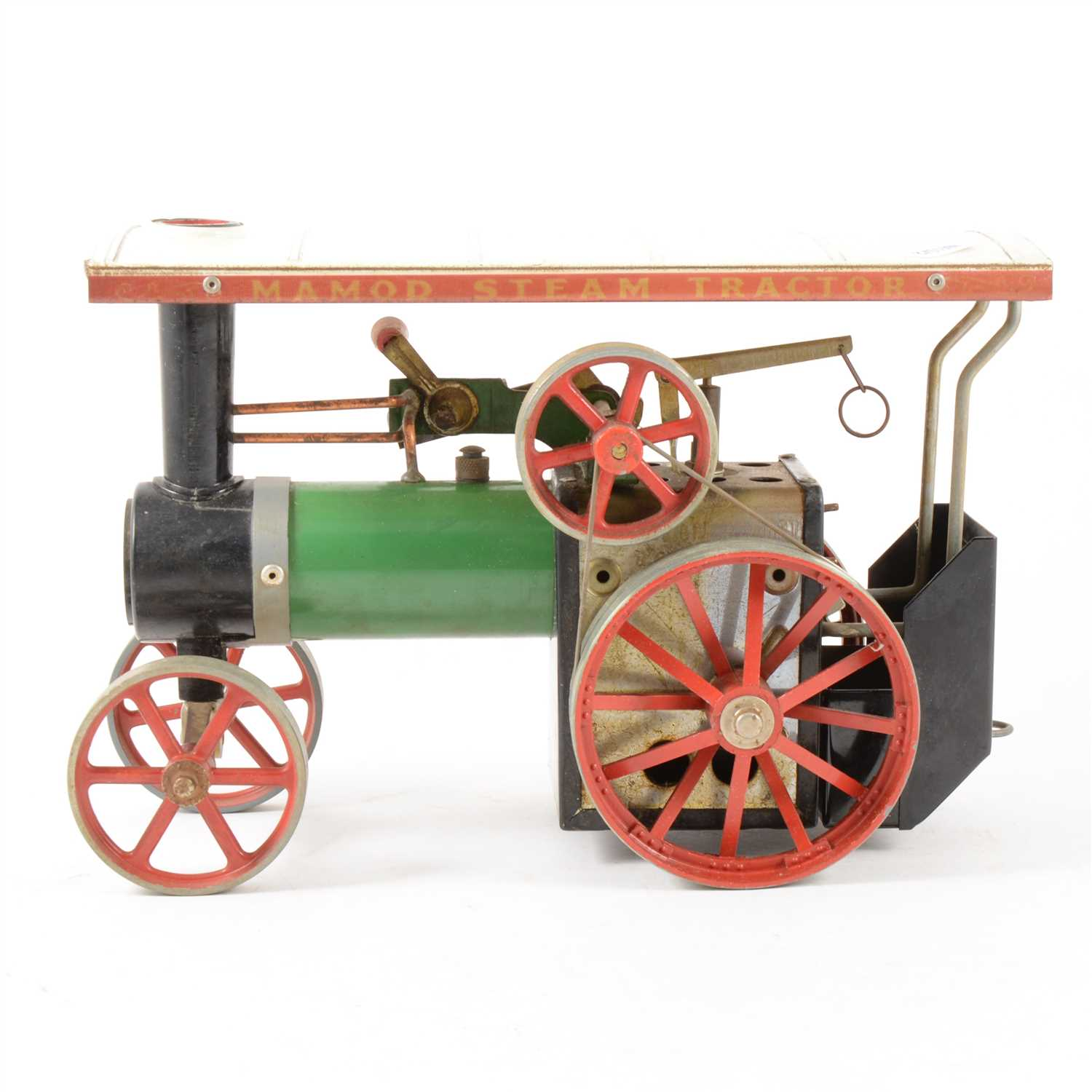 Lot 51-Mamod live steam traction showman's engine; unboxed.