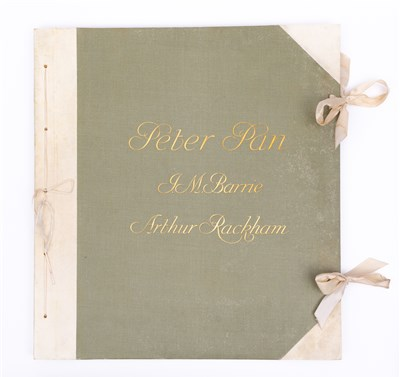 Lot 354-Rackham, Arthur (illust.), The Peter Pan Portfolio ... from 'Peter Pan in Kensington Gardens'
