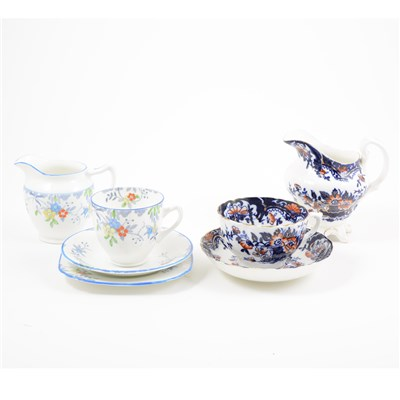 Lot 53-Two part tea sets, including an Ironstone style teaset, and a 1930s part set