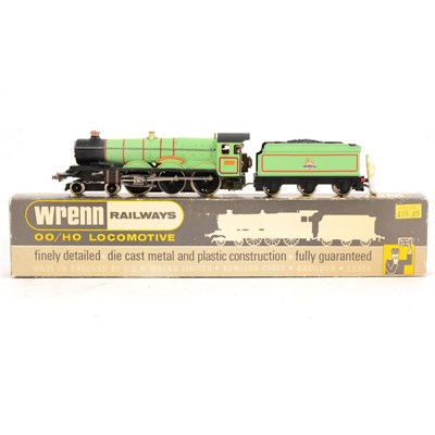 Lot 1-Wrenn Railways OO gauge locomotive; W2221 'Brecon Castle' boxed.