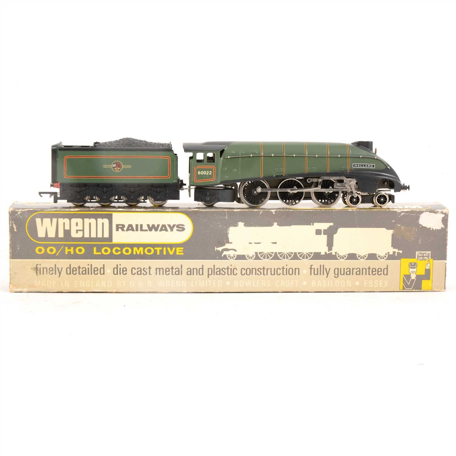 Lot 3-Wrenn Railways OO gauge locomotive; W2211 4-6-2 'Mallard', boxed.
