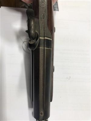 Lot 142 - Percussion pistol by W J Rigby, Dublin
