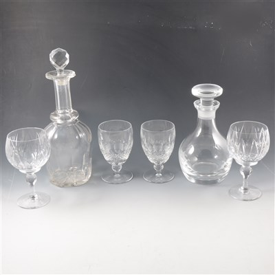 Lot 60-Waterford, Stuart and other table glass