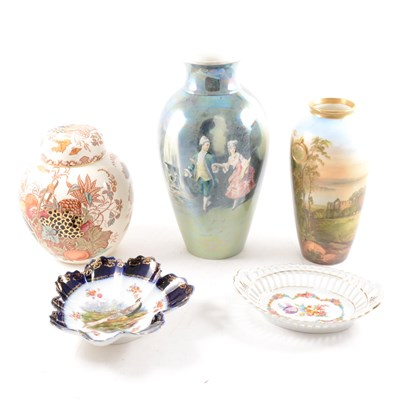 Lot 11-Small collection of decorative china