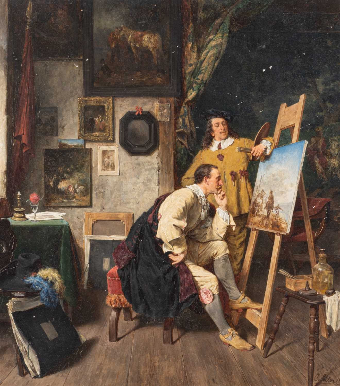 Lot 399-Carl Wilhelm Anton Seiler