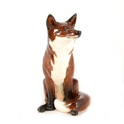 Lot 1-A Beswick Fireside Fox