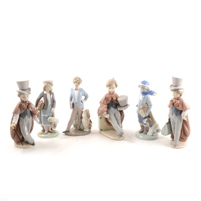 Lot 19-Six Lladro childhood figures