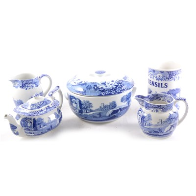 Lot 77-An extensive collection of Spode bone china table wares, Spode's Italian