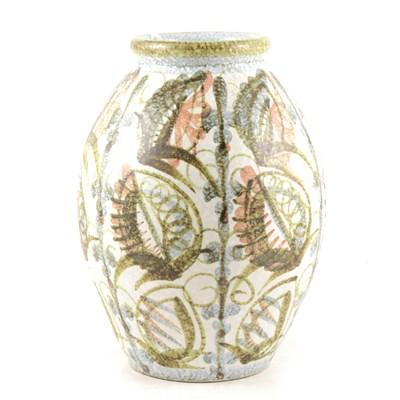 Lot 33-Denby Pottery studio stoneware vase
