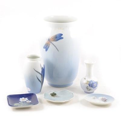 Lot 32-A collection or Royal Copenhagen porcelain.