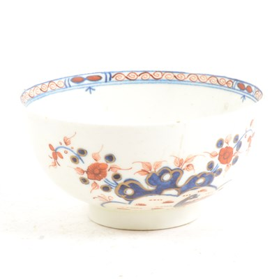 Lot 22-A First Period Worcester bowl, ...