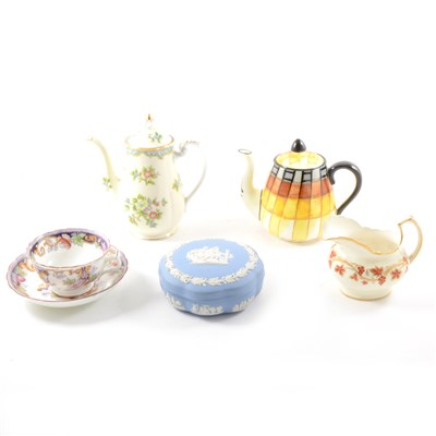 Lot 17-A large collection of decorative china including tea and coffee ware