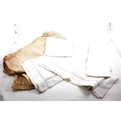 Lot 96-Linen & lace: a collection