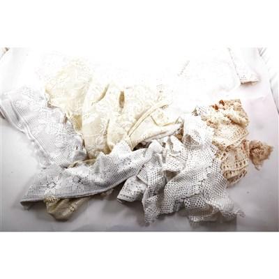 Lot 97-Linen & lace: a collection