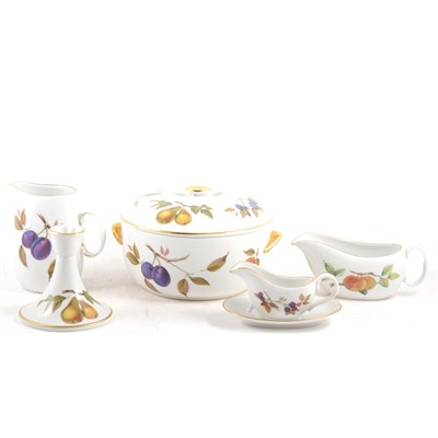 Lot 77-Large quantity of Royal Worcester 'Evesham' dinnerware.