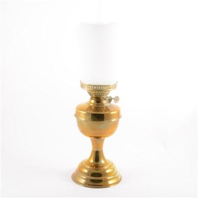 Lot 80-A copper oil lamp