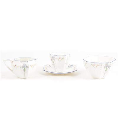 Lot 14-Shelley Bone China teaware, ...