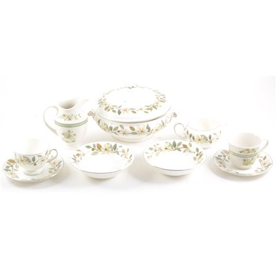 Lot 69-Wedgwood bone china table service, Beaconsfield pattern