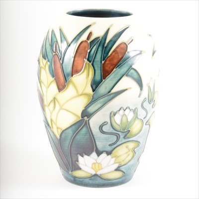 Lot 47-A 'Lamia' design vase, by Rachel Bishop for Moorcroft Pottery, 1996.