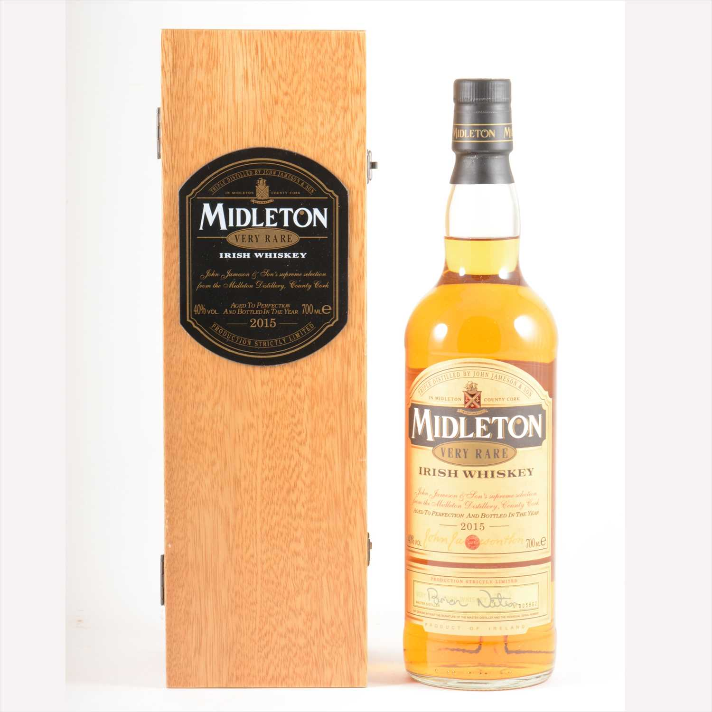Lot 282-MIDLETON - Very Rare Irish Whiskey, 2015.